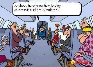 simulatore volo